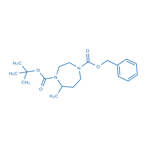 1-Benzyl 4-tert-butyl 5-methyl-1,4-diazepane-1,4-dicarboxylate