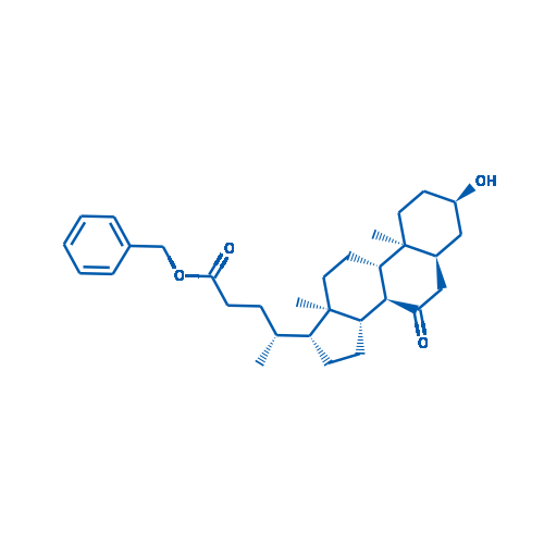 (R)-Benzyl 4-((3R,5S,8R,9S,10S,13R,14S,17R)-3-hydroxy-10,13-dimethyl-7-oxohexadecahydro-1H-cyclopenta[a]phenanthren-17-yl)pentanoate