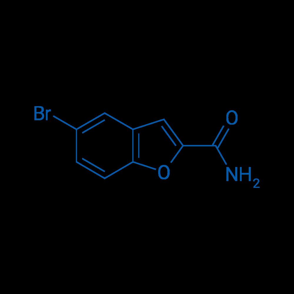 5-Bromobenzofuran-2-carboxamide