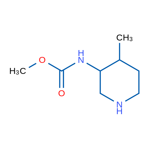 Methyl (4-methylpiperidin-3-yl)carbamate