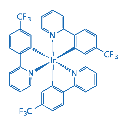Tris[2-(2-pyridinyl-κN)-5-(trifluoromethyl)phenyl-κC]iridium(III)