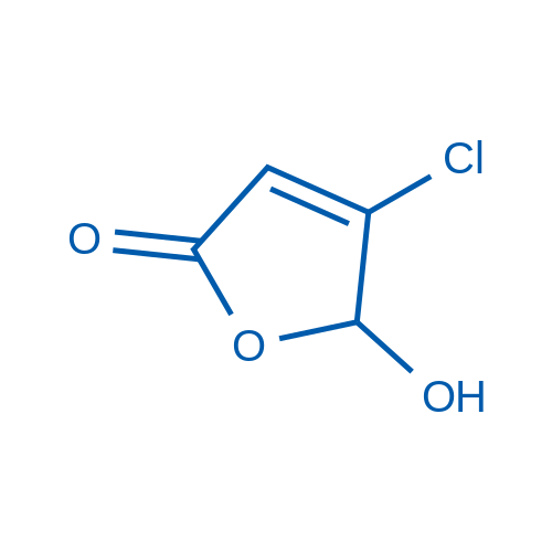 4-Chloro-5-hydroxyfuran-2(5H)-one