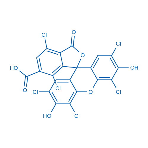 2',4,4',5',7,7'-Hexachloro-3',6'-dihydroxy-3-oxo-3H-spiro[isobenzofuran-1,9'-xanthene]-6-carboxylic acid