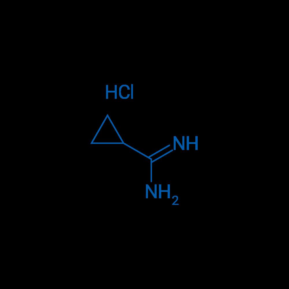 Cyclopropanecarboximidamide hydrochloride
