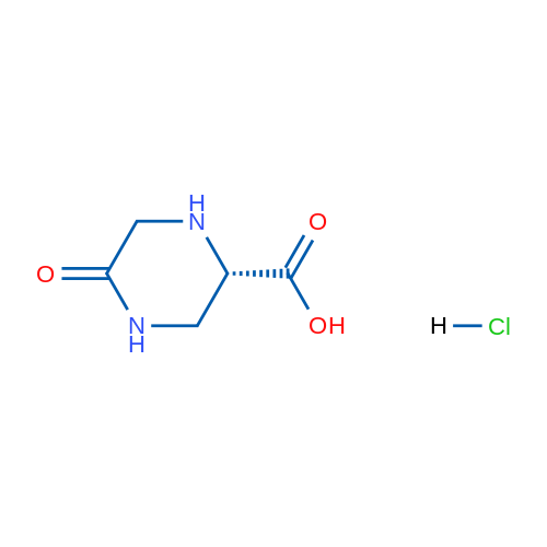 (S)-5-Oxopiperazine-2-carboxylic acid hydrochloride