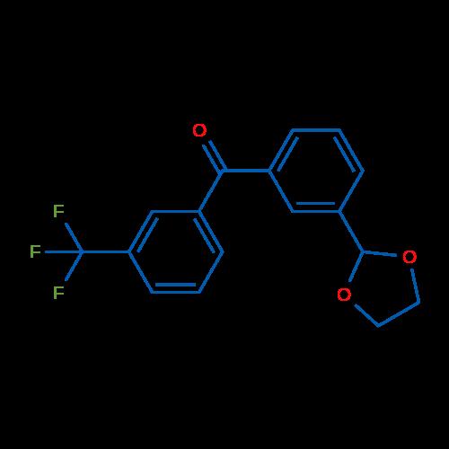 3-(1,3-Dioxolan-2-yl)-3'-trifluoromethylbenzophenone