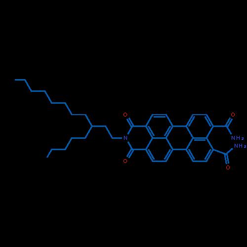 1,3-Dioxo-2-(3-pentylundecyl)-2,3-dihydro-1H-benzo[5,10]anthra[2,1,9-def]isoquinoline-8,9-dicarboxamide