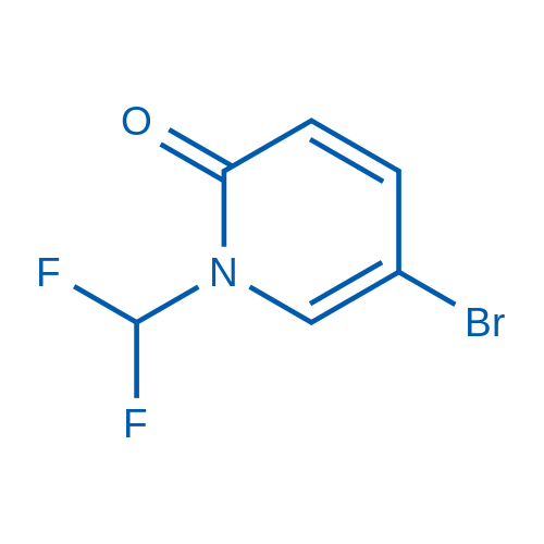 5-Bromo-1-(difluoromethyl)pyridin-2(1H)-one
