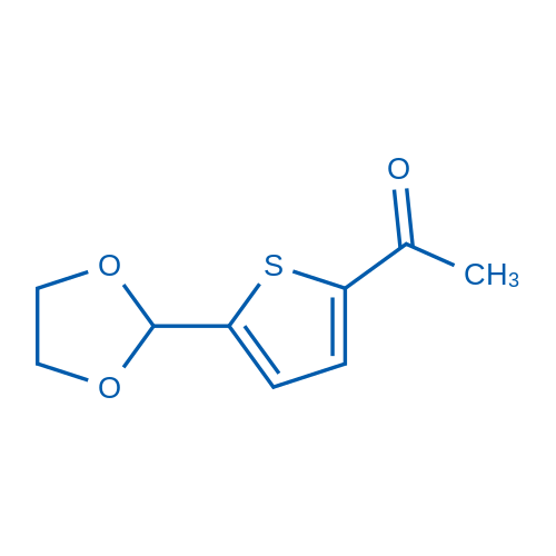 5-(1,3-Dioxolan-2-yl)-2-thienyl methyl ketone
