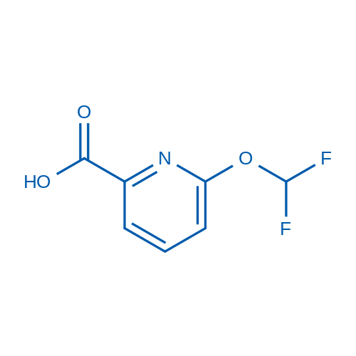 6-(Difluoromethoxy)picolinic acid