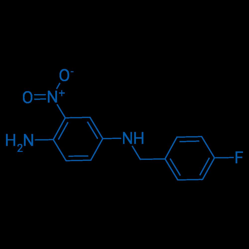 N1-(4-Fluorobenzyl)-3-nitrobenzene-1,4-diamine