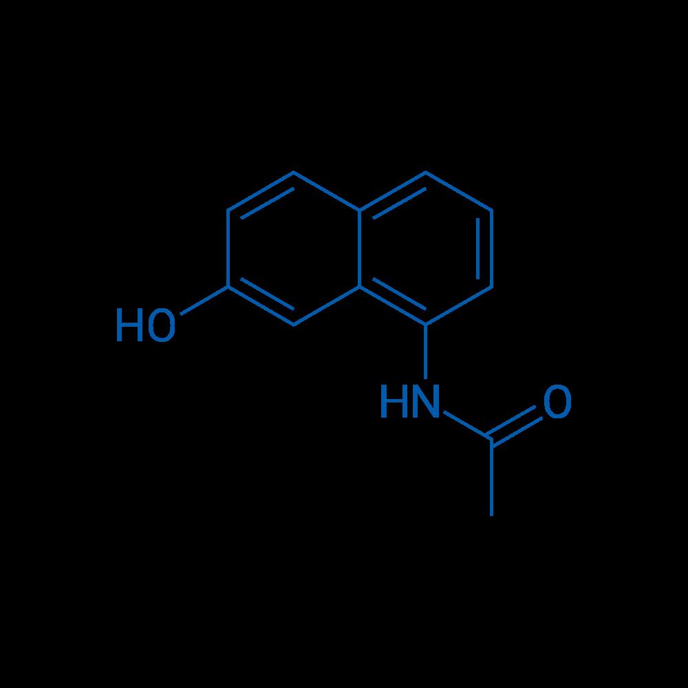 N-(7-Hydroxynaphthalen-1-yl)acetamide