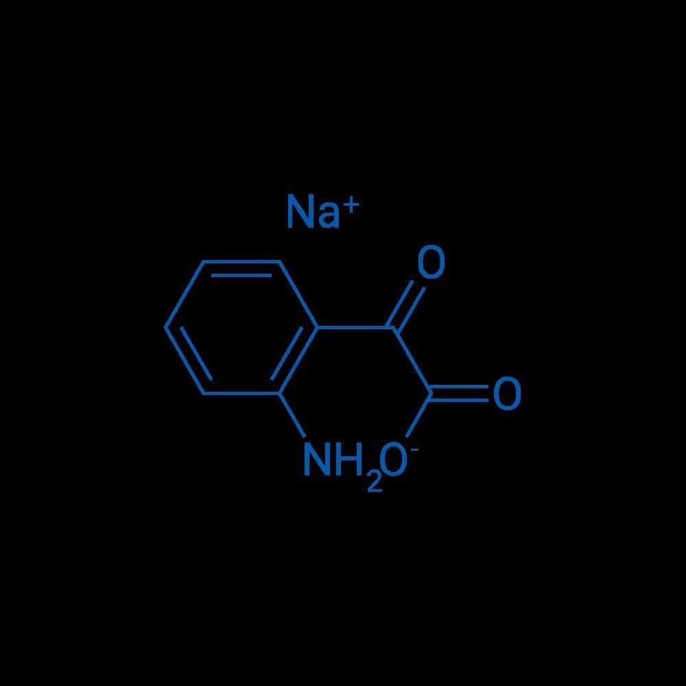 Sodium 2-(2-aminophenyl)-2-oxoacetate