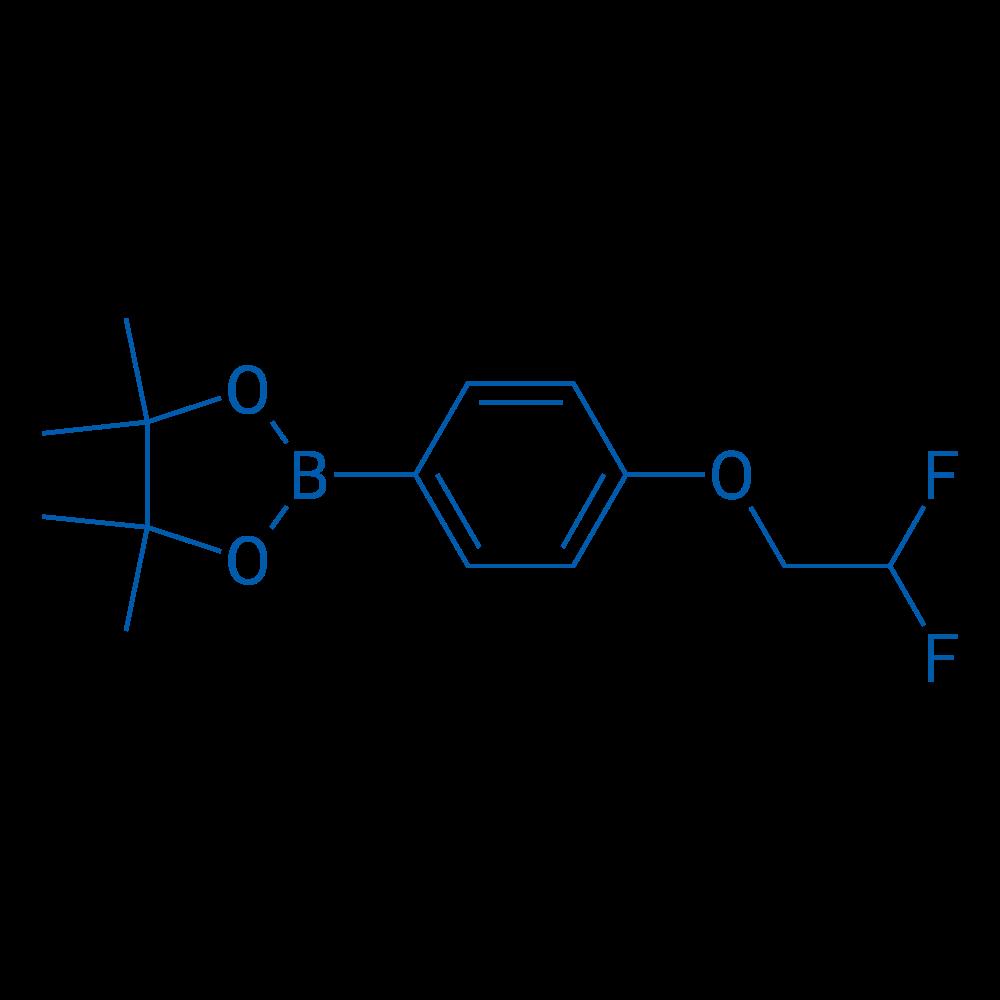 2-(4-(2,2-Difluoroethoxy)phenyl)-4,4,5,5-tetramethyl-1,3,2-dioxaborolane