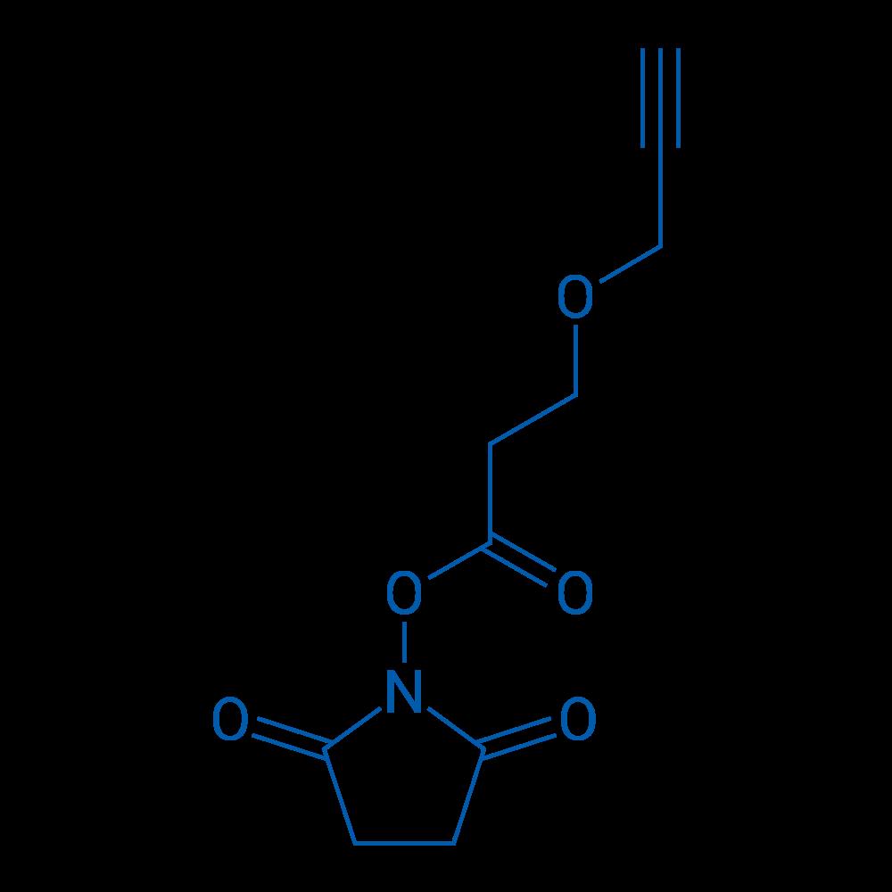 N-Succinimidyl 3-(propargyloxy)propionate
