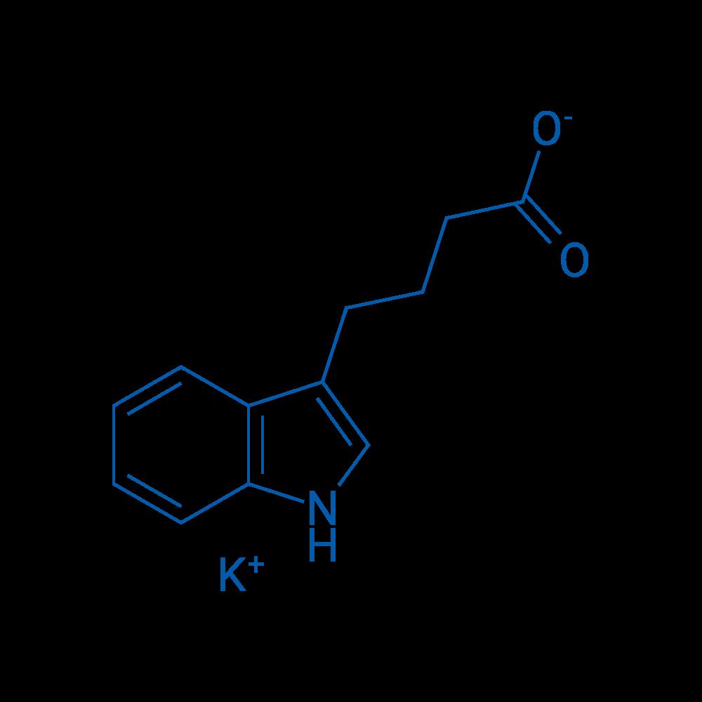 Potassium 4-(1H-indol-3-yl)butanoate