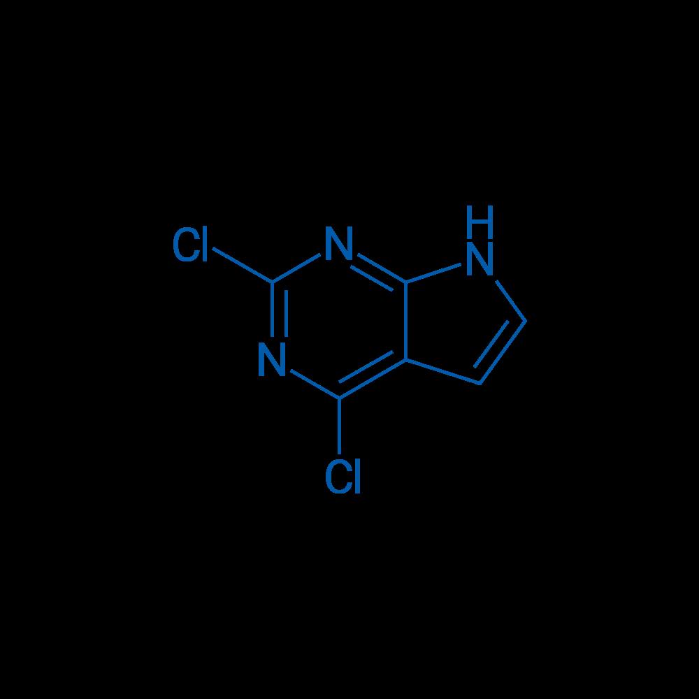 2,4-Dichloro-7H-pyrrolo[2,3-d]pyrimidine