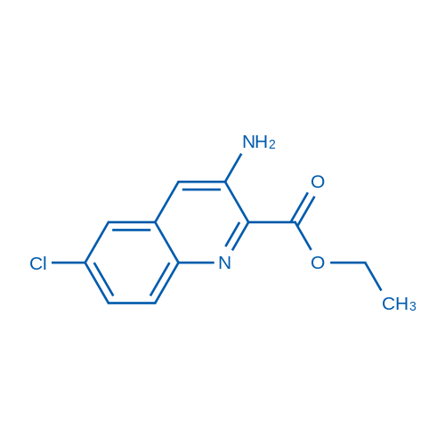 Ethyl 3-amino-6-chloroquinoline-2-carboxylate
