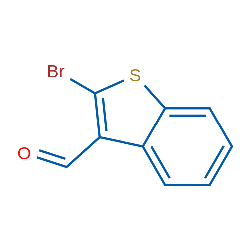 2-Bromobenzo[b]thiophene-3-carbaldehyde