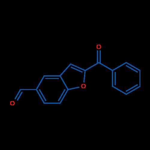 2-Benzoylbenzofuran-5-carbaldehyde