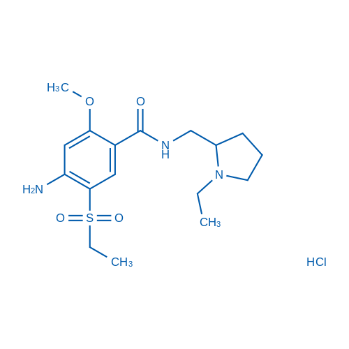 Amisulpride hydrochloride