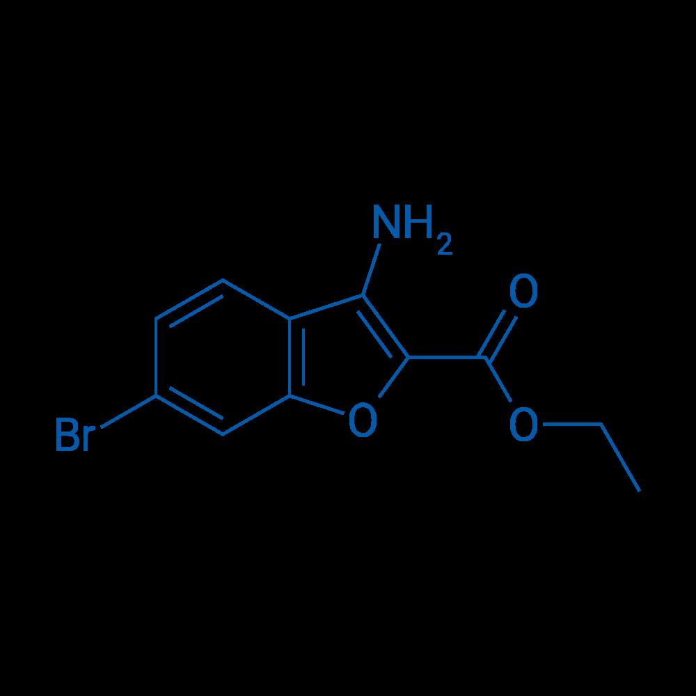Ethyl 3-amino-6-bromobenzofuran-2-carboxylate