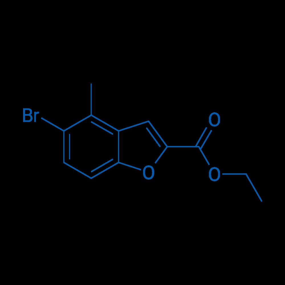 Ethyl 5-bromo-4-methylbenzofuran-2-carboxylate