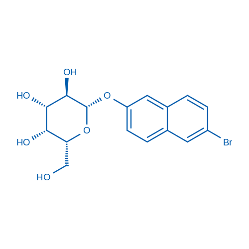 6-Bromo-2-naphthyl b-D-galactoside