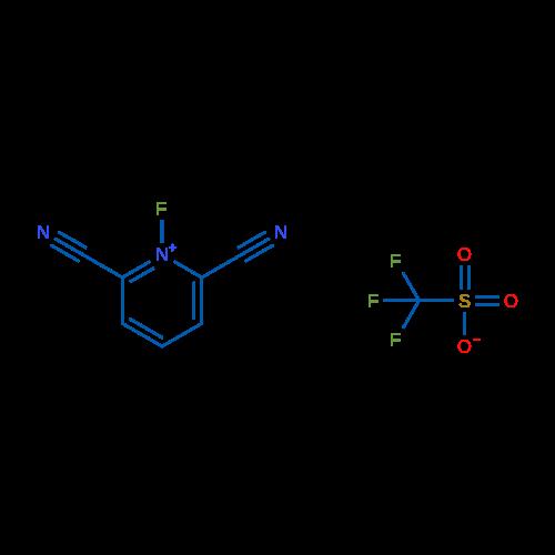 2,6-Dicyano-1-fluoropyridin-1-ium trifluoromethanesulfonate
