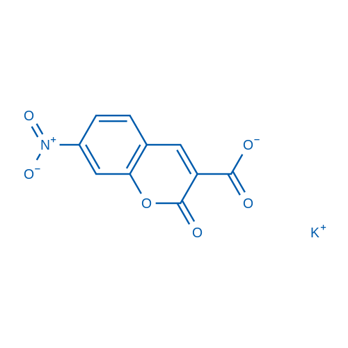 Potassium 7-nitro-2-oxo-2H-chromene-3-carboxylate