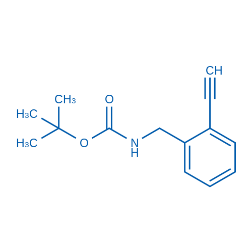 tert-Butyl 2-ethynylbenzylcarbamate