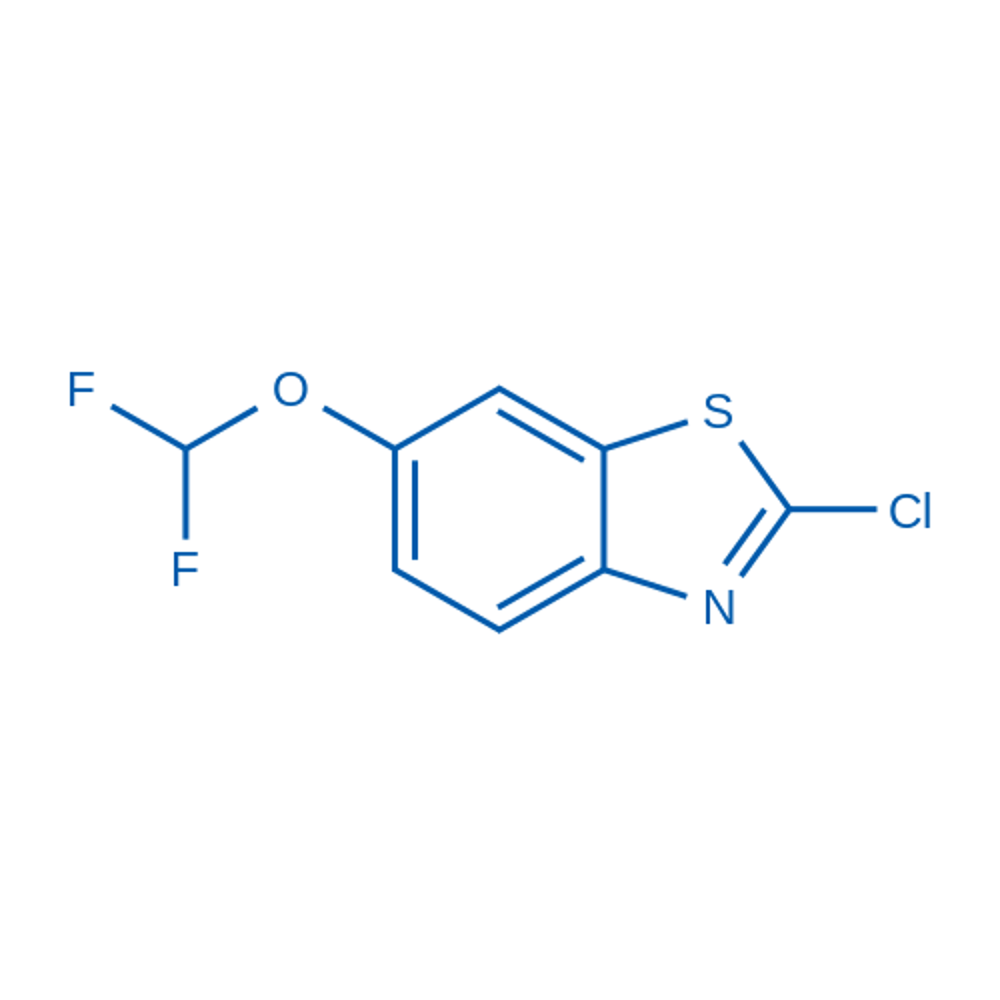 2-Chloro-6-(difluoromethoxy)benzo[d]thiazole