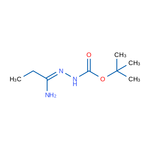 tert-Butyl 2-(1-aminopropylidene)hydrazinecarboxylate