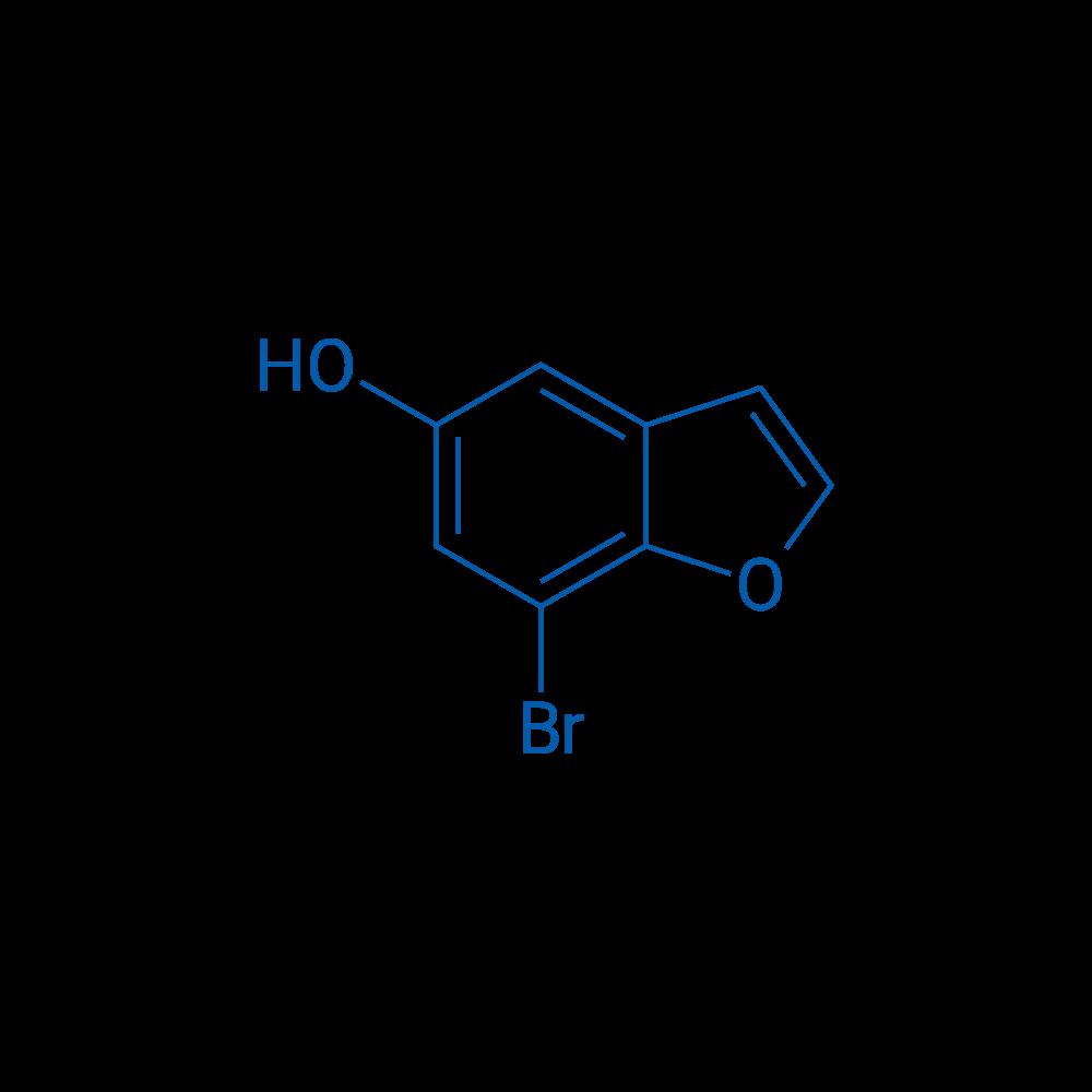 7-Bromobenzofuran-5-ol