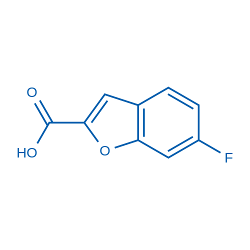 6-Fluorobenzofuran-2-carboxylic acid