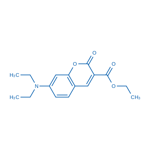 Ethyl 7-(diethylamino)-2-oxo-2H-chromene-3-carboxylate