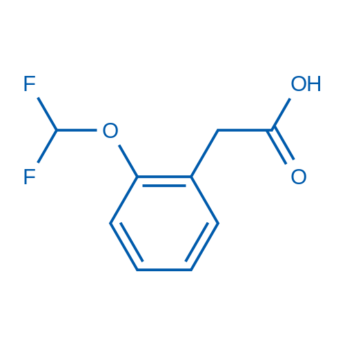 2-(Difluoromethoxy)phenylacetic acid