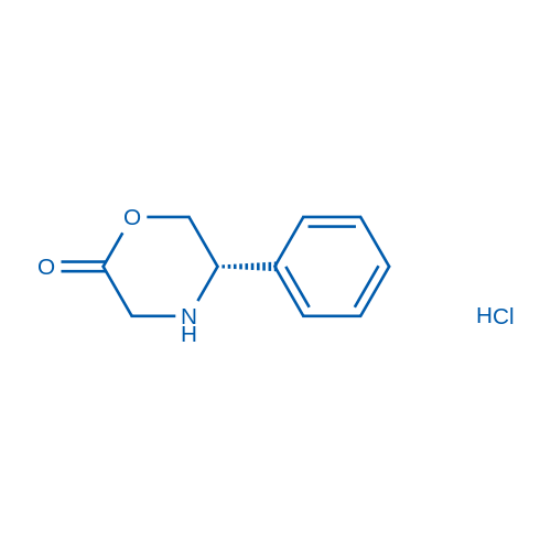 (S)-5-Phenylmorpholin-2-one hydrochloride