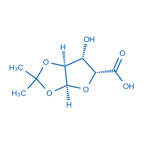(3AS,5R,6S,6aS)-6-hydroxy-2,2-dimethyltetrahydrofuro[2,3-d][1,3]dioxole-5-carboxylic acid