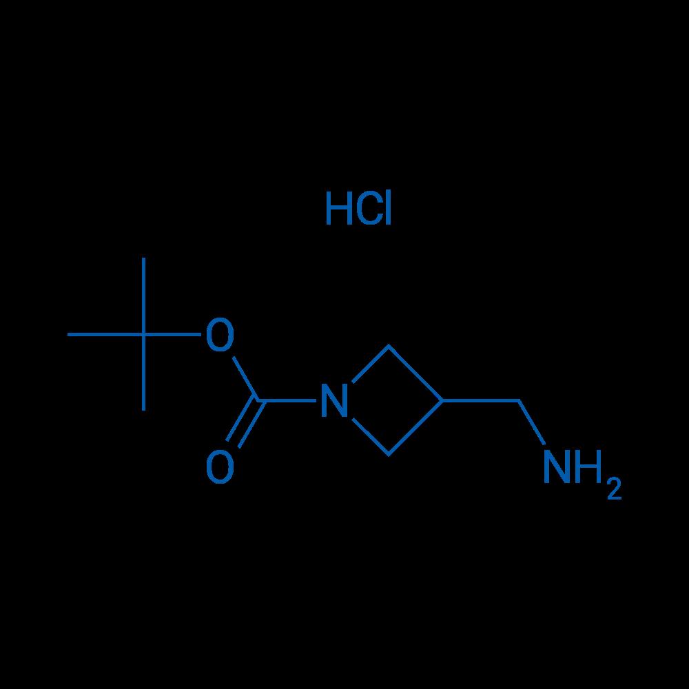 tert-Butyl 3-(aminomethyl)azetidine-1-carboxylate hydrochloride