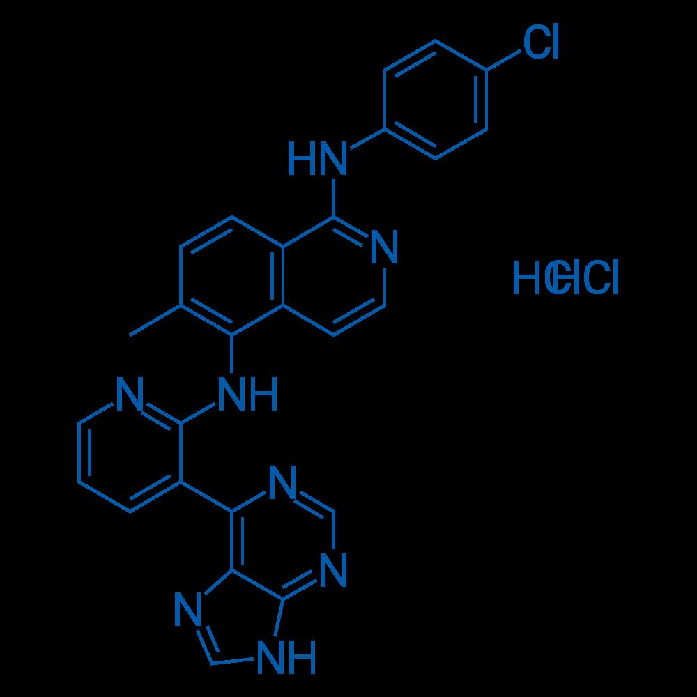 B-Raf inhibitor 1 dihydrochloride