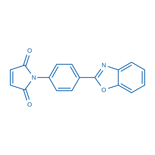1-(4-(Benzo[d]oxazol-2-yl)phenyl)-1H-pyrrole-2,5-dione