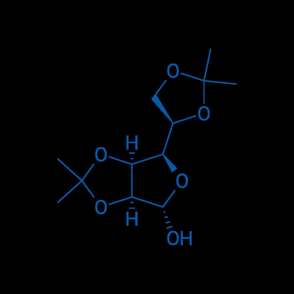 (3aS,4S,6R,6aS)-6-((R)-2,2-Dimethyl-1,3-dioxolan-4-yl)-2,2-dimethyltetrahydrofuro[3,4-d][1,3]dioxol-4-ol