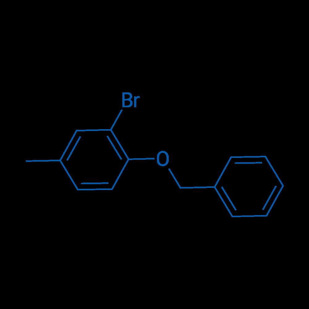 1-(Benzyloxy)-2-bromo-4-methylbenzene