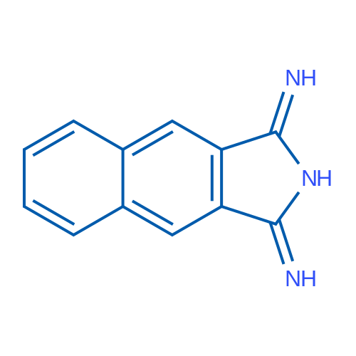 1H-Benzo[f]isoindole-1,3(2H)-diimine