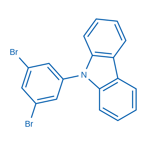 9-(3,5-Dibromophenyl)-9H-carbazole