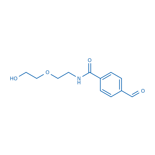 4-formyl-N-(2-(2-hydroxyethoxy)ethyl)benzamide