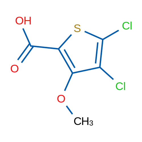 4,5-Dichloro-3-methoxythiophene-2-carboxylic acid
