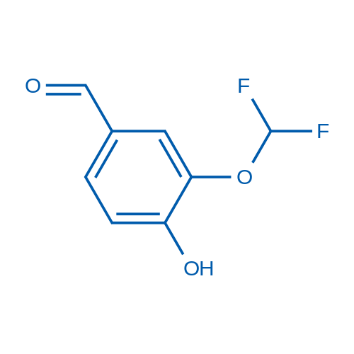 3-(Difluoromethoxy)-4-hydroxybenzaldehyde