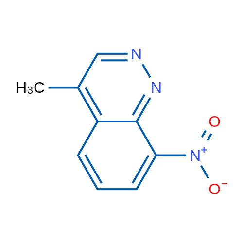 4-Methyl-8-nitrocinnoline